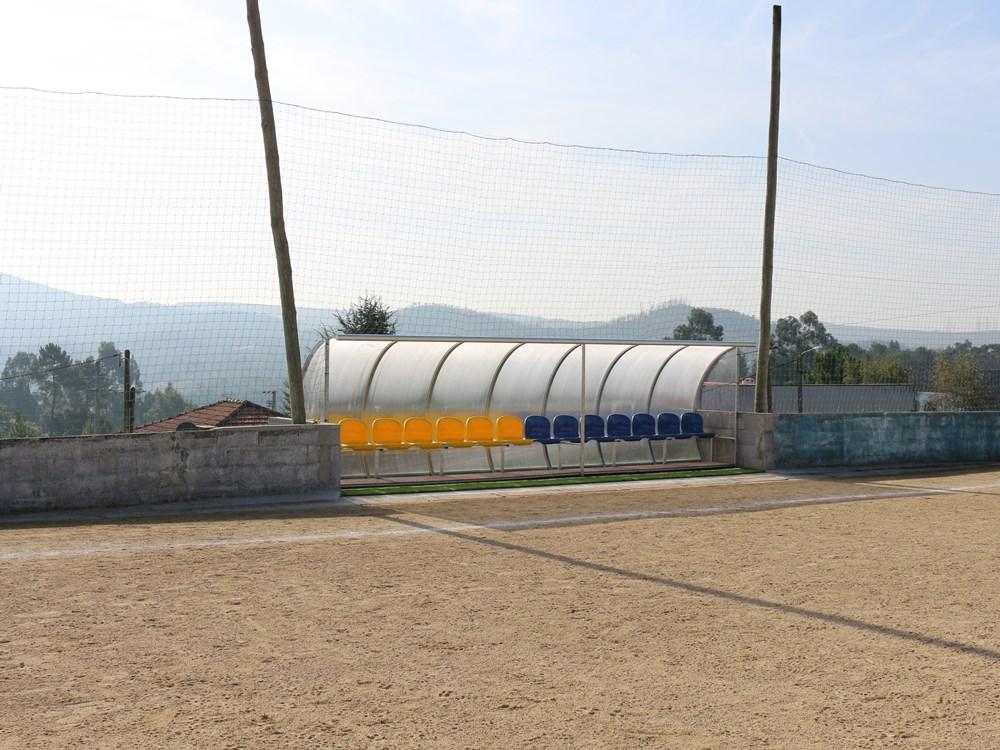 Obras campo de futebol CRPJ Água Longa