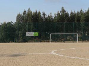 Beneficiação do campo de futebol do CRPJ Água Longa