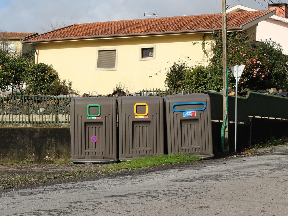 Reciclagem mais acessível graças à colocação de novos ecopontos