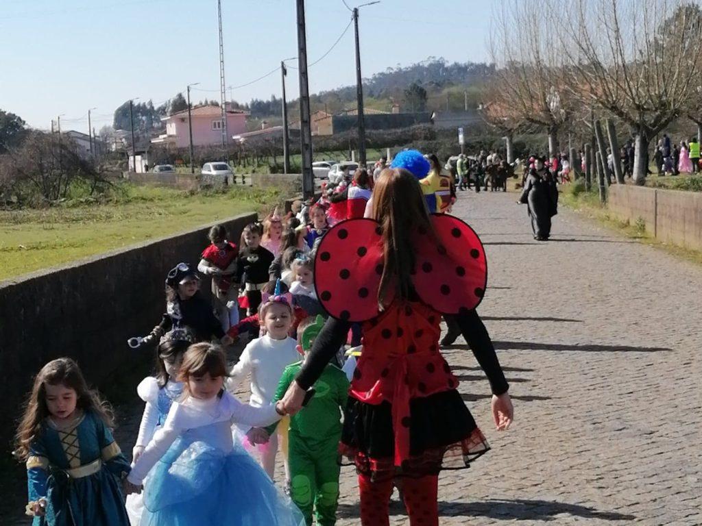 Carnaval Centro Escolar de Água Longa 2020