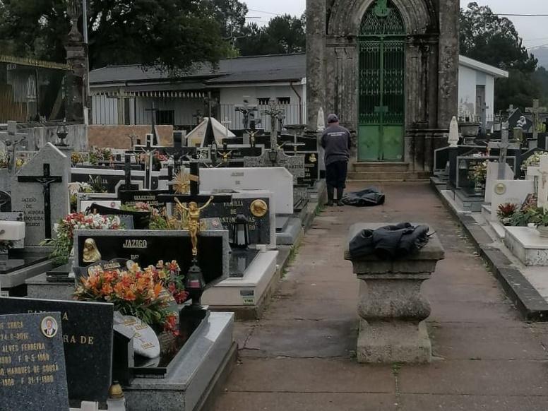 Junta de Freguesia assegura cuidado e limpeza do cemitério de Água Longa
