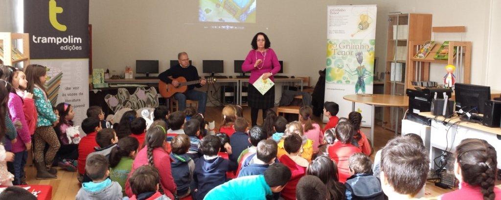 Escritora Palmira Martins visita Centro Escolar de Água Longa