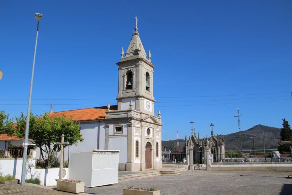Igreja Matriz de Água Longa Santo Tirso