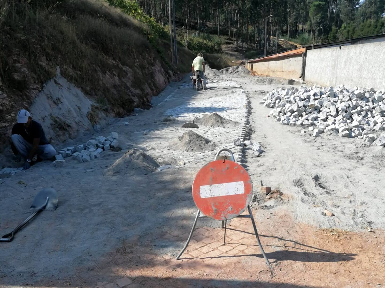 Iniciada a 2ª fase das obras na Rua Soldado João Moreira da Cunha