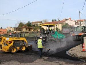 Concluídas as obras de pavimentação das ruas Adelino Amaro da Costa e do Torrão